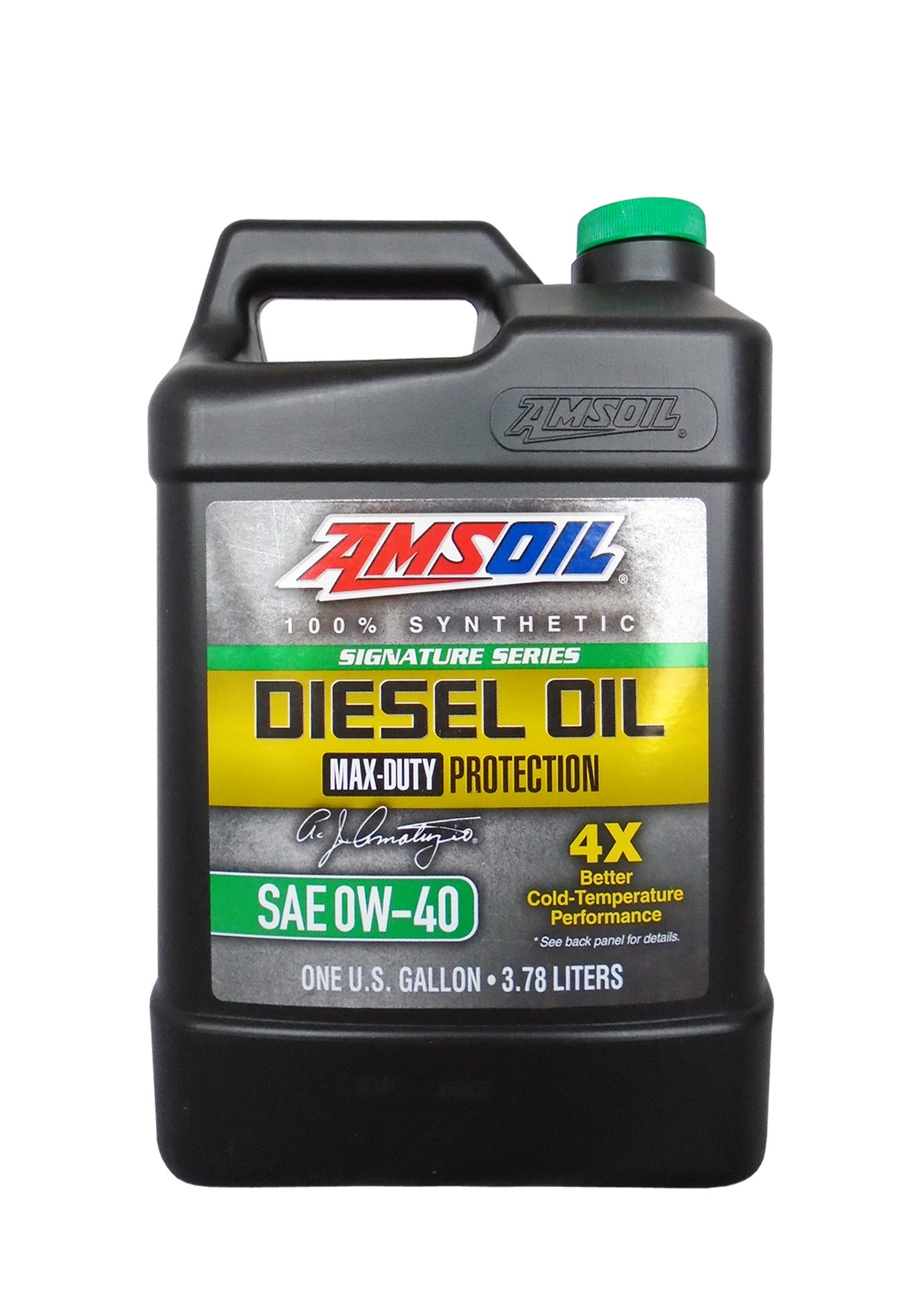 Моторное масло AMSOIL Max-Duty Synthetic Diesel Oil SAE 0W-40 (3.78л)