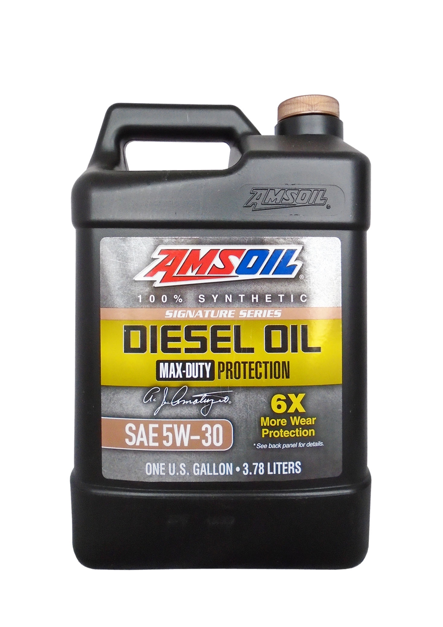 Моторное масло AMSOIL Max-Duty Synthetic Diesel Oil SAE 5W-30 (3.78л)