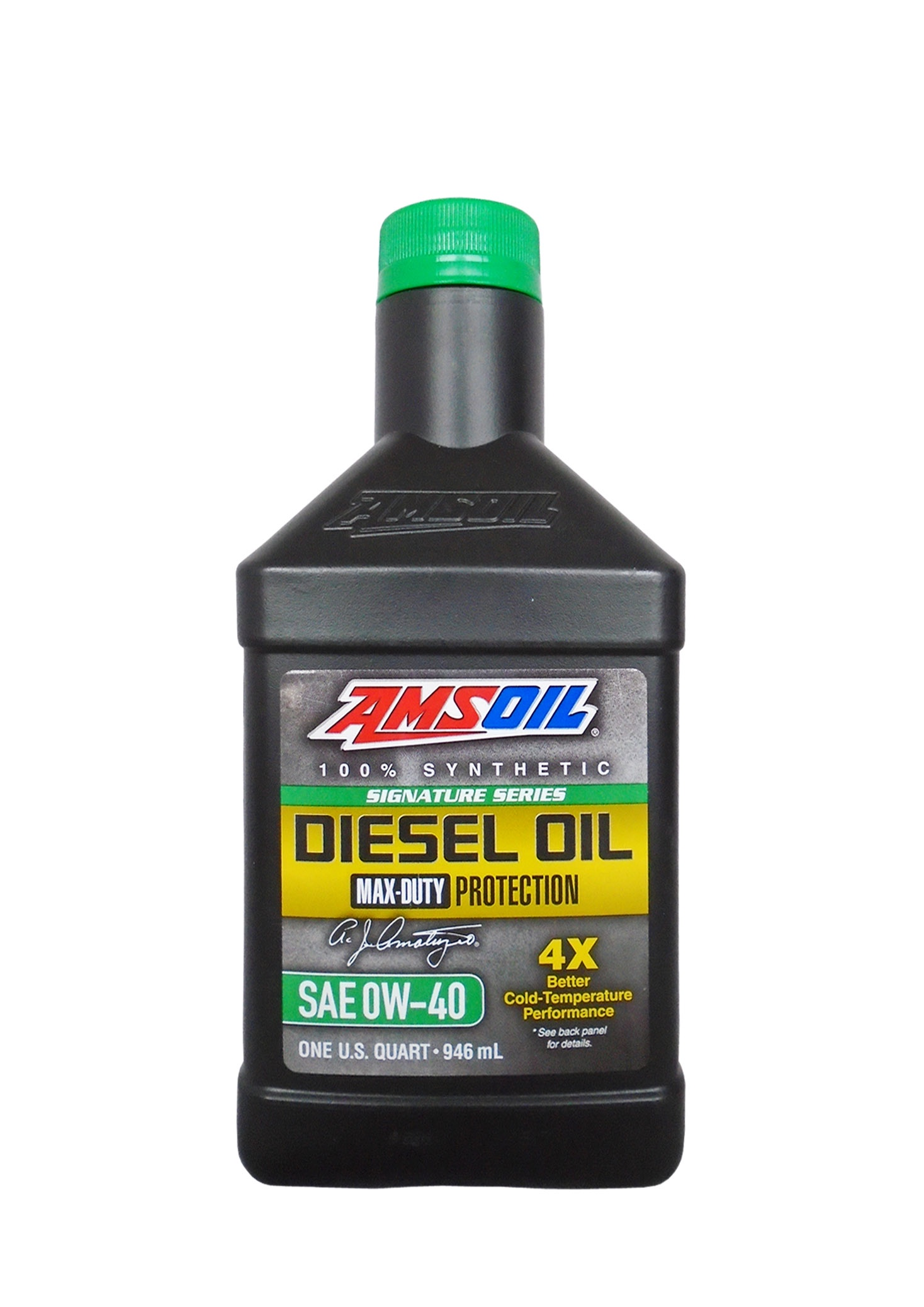Моторное масло AMSOIL Max-Duty Synthetic Diesel Oil SAE 0W-40 (0.946л)