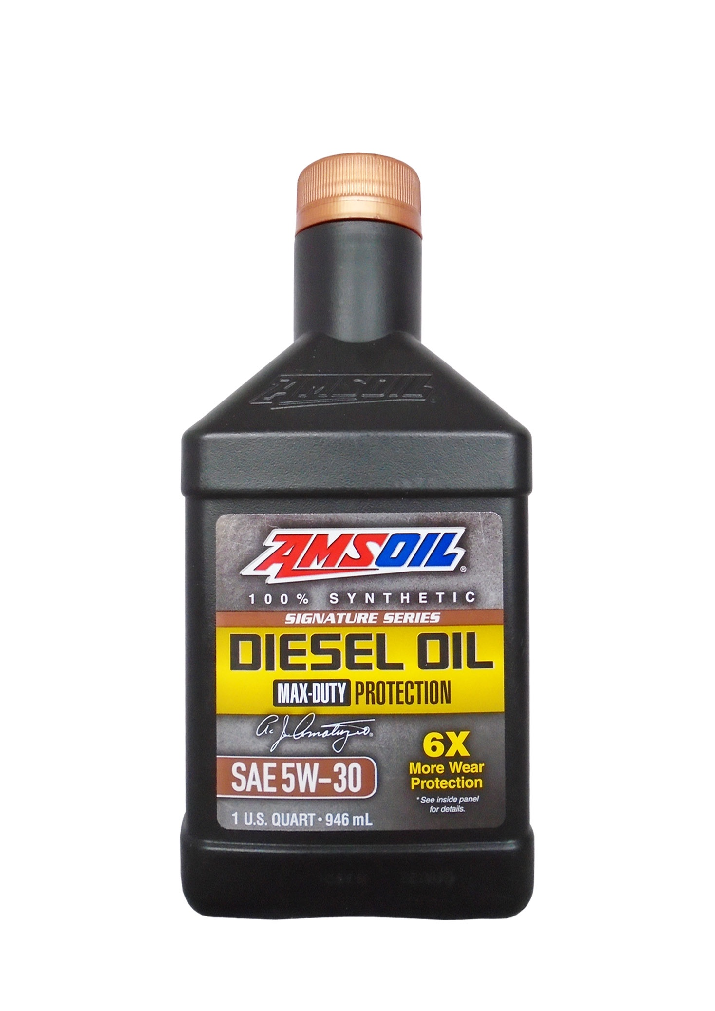 Моторное масло AMSOIL Max-Duty Synthetic Diesel Oil SAE 5W-30 (0.946л)