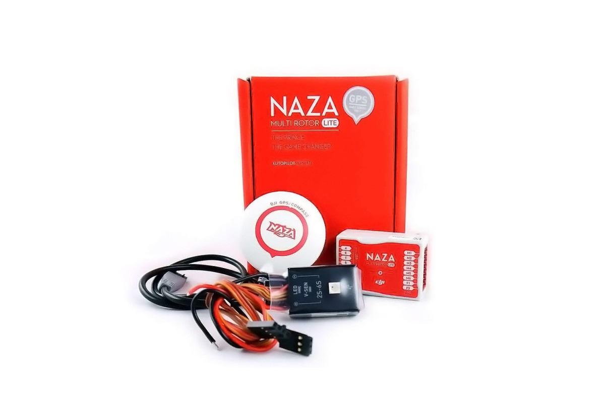 Полетный контроллер с GPS для мультикоптера DJI Naza-M Lite DJI