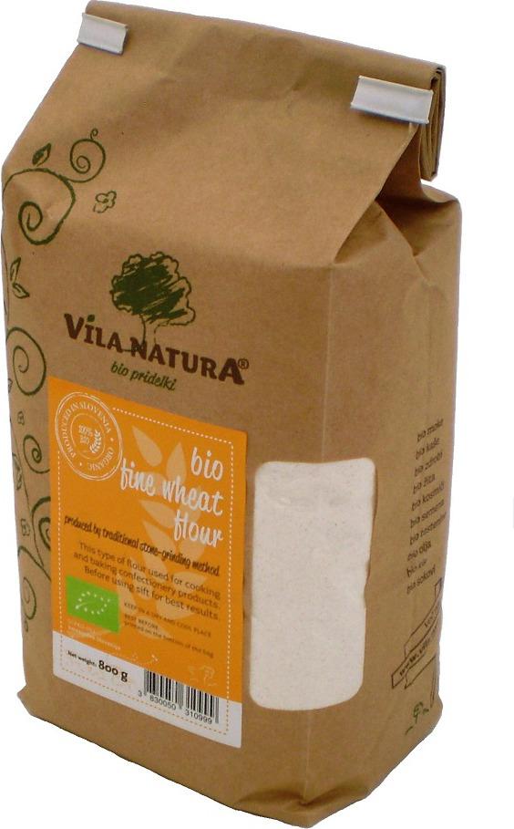 Пшеничная мука Vila Natura Классическая, жерновая, 800 г