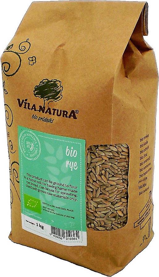 Ржаная крупа Vila Natura, 1 кг