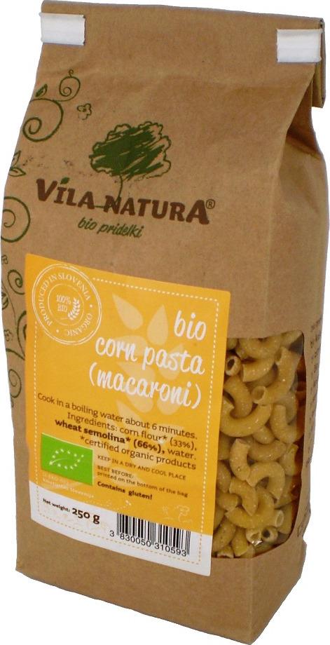 Макароны Vila Natura, кукурузные, 250 г