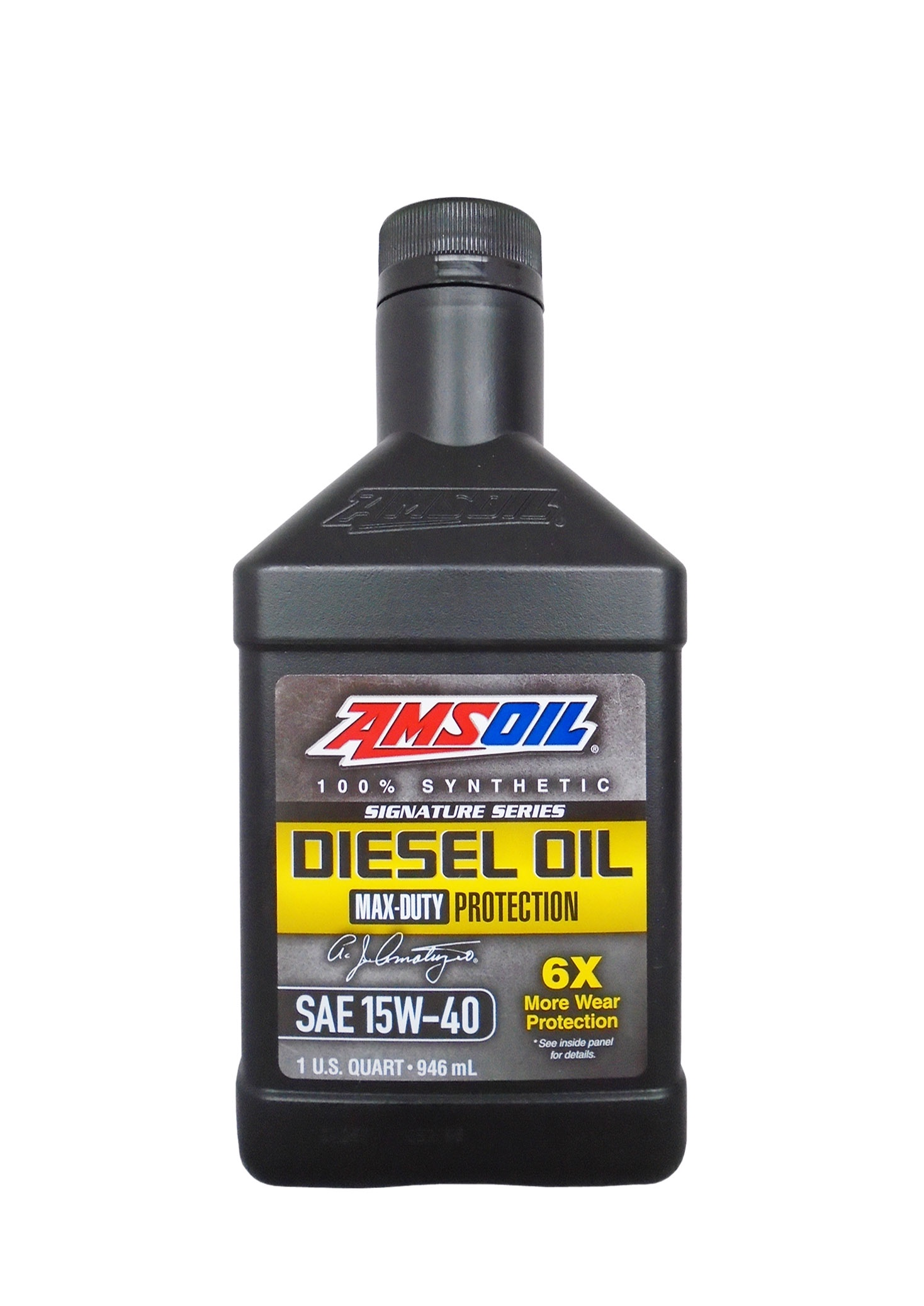 Моторное масло AMSOIL Max-Duty Synthetic Diesel Oil SAE 15W-40 (0.946л)