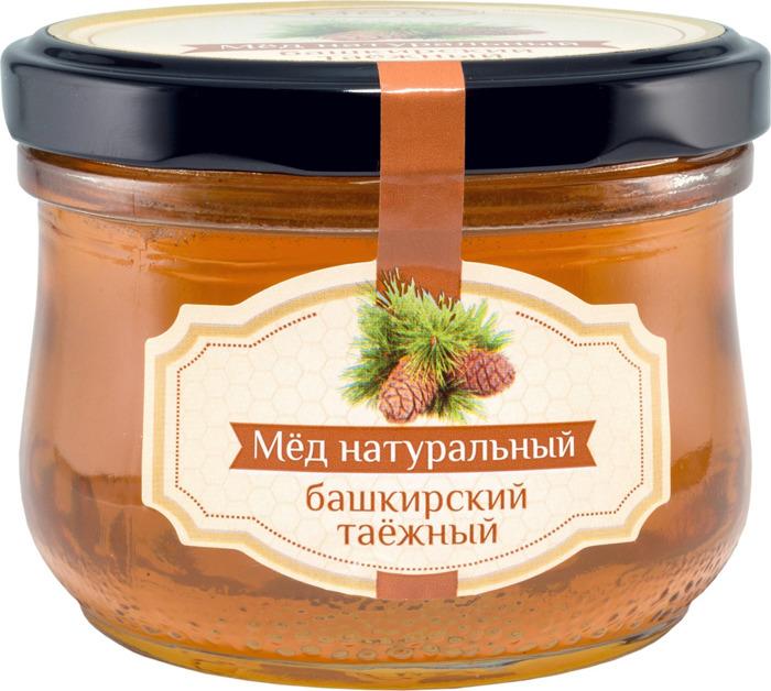 Мед Maremiel Башкирский таежный, натуральный, 270 г