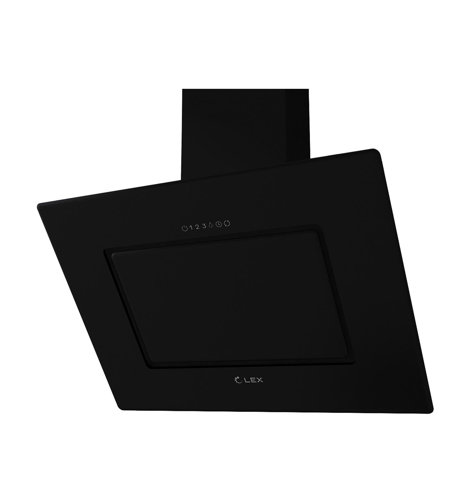 Наклонная кухонная вытяжка LEX Leila 900 Black
