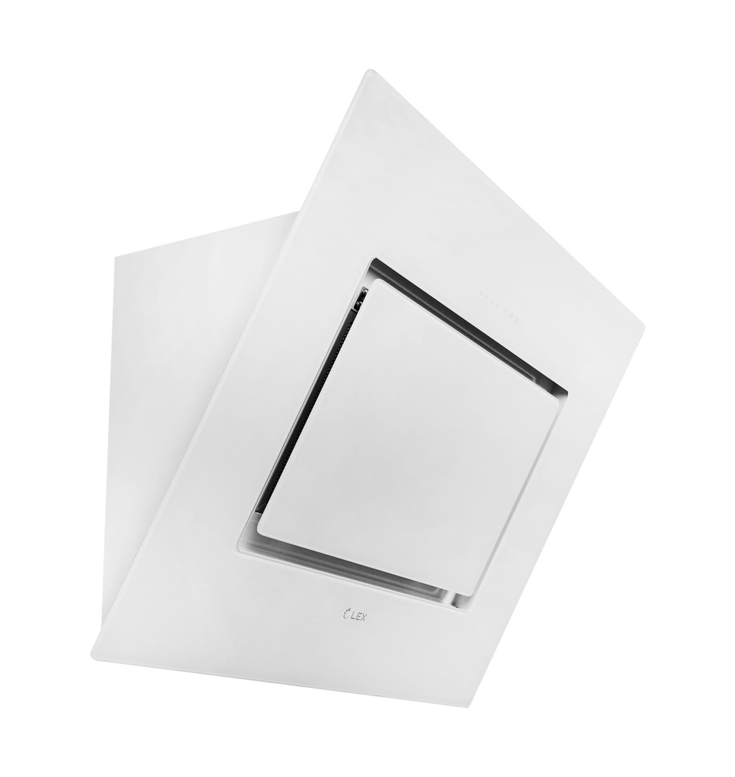 Наклонная кухонная вытяжка LEX Leila 900 White