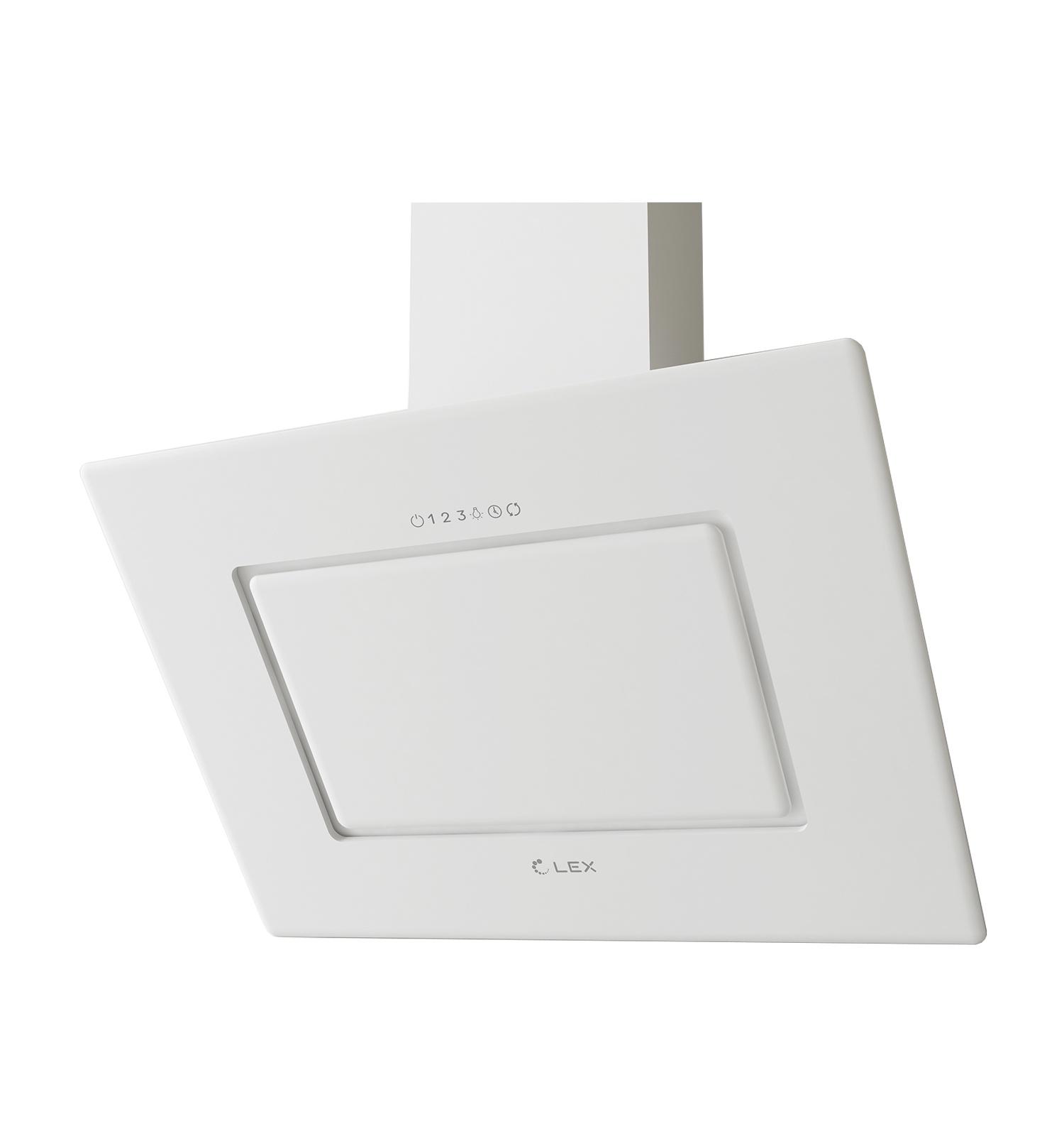 Наклонная кухонная вытяжка LEX Leila 900 White LEX