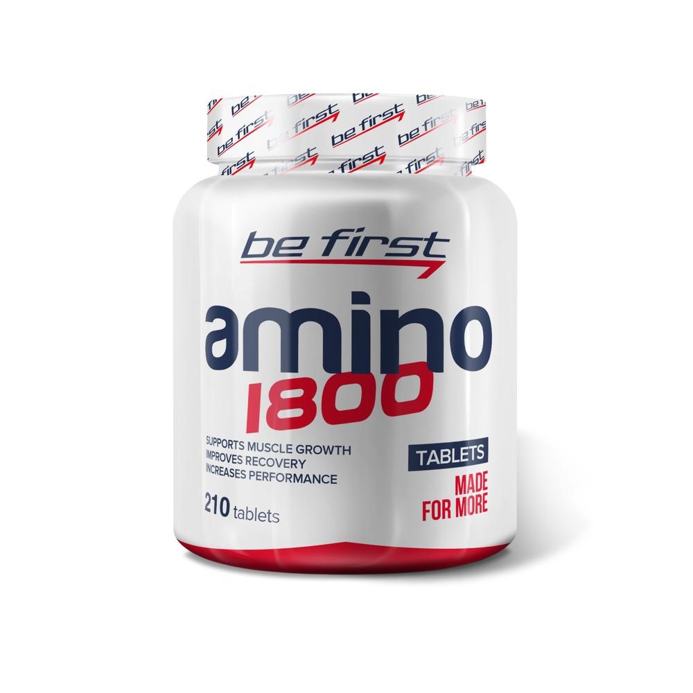 Аминокислоты Be First Amino 1800 210 таблеток цены онлайн