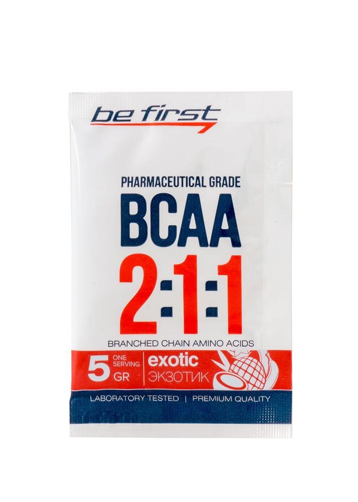 Аминокислоты Be First BCAA 2:1:1 5 гр, экзотик