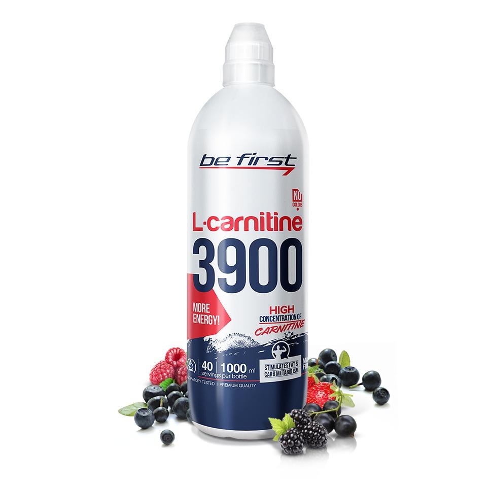 Карнитин Be First L-Carnitine 3900 мг 1000 мл, лесные ягоды
