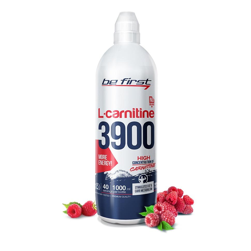 Карнитин Be First L-Carnitine 3900 мг 1000 мл, малина