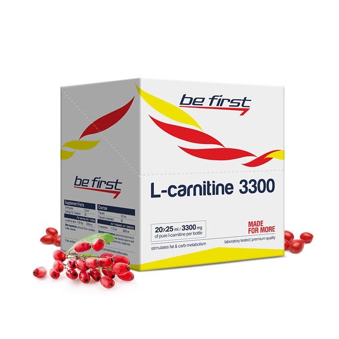 Карнитин Be First L-Carnitine 3300 мг 20 ампул, барбарис