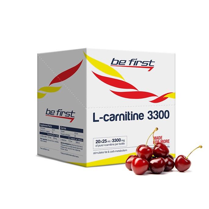 Карнитин Be First L-Carnitine 3300 мг 20 ампул, вишня
