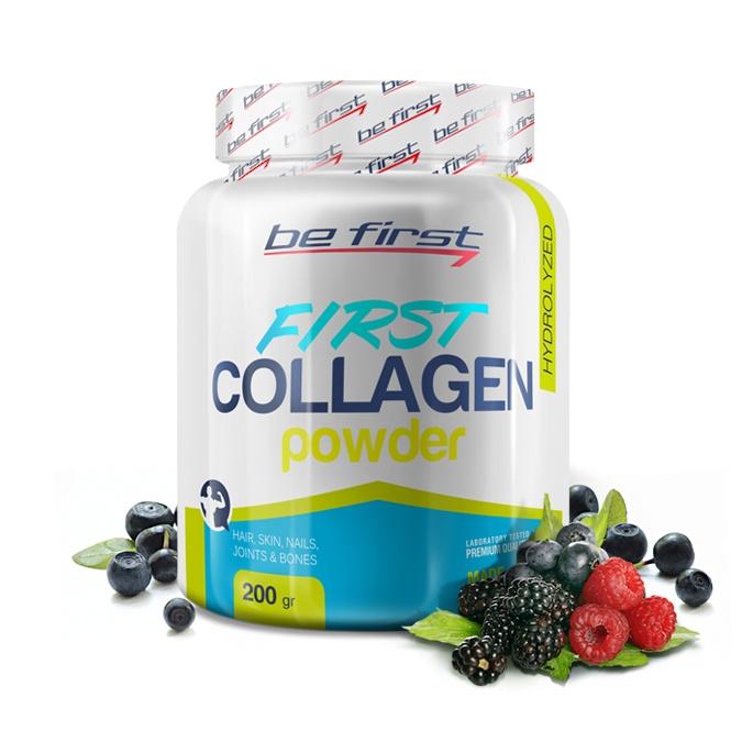 Коллаген Be First Collagen Powder 200 гр, лесные ягоды