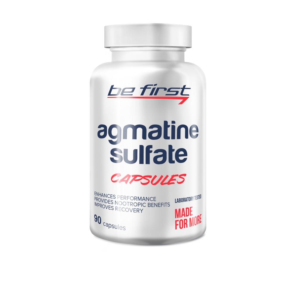 Агматин Be First Agmatine Sulfate Capsules 90 капсул