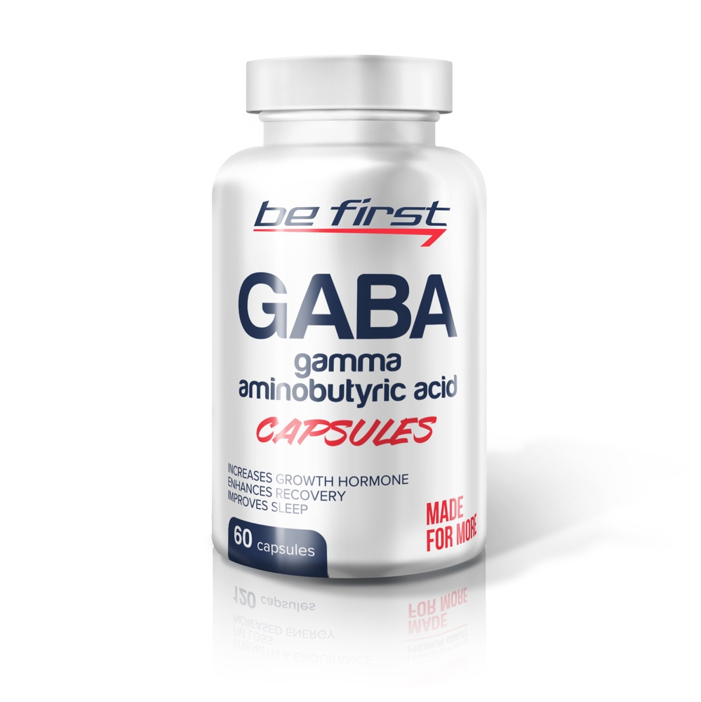 GABA Be First Capsules 60 капсул