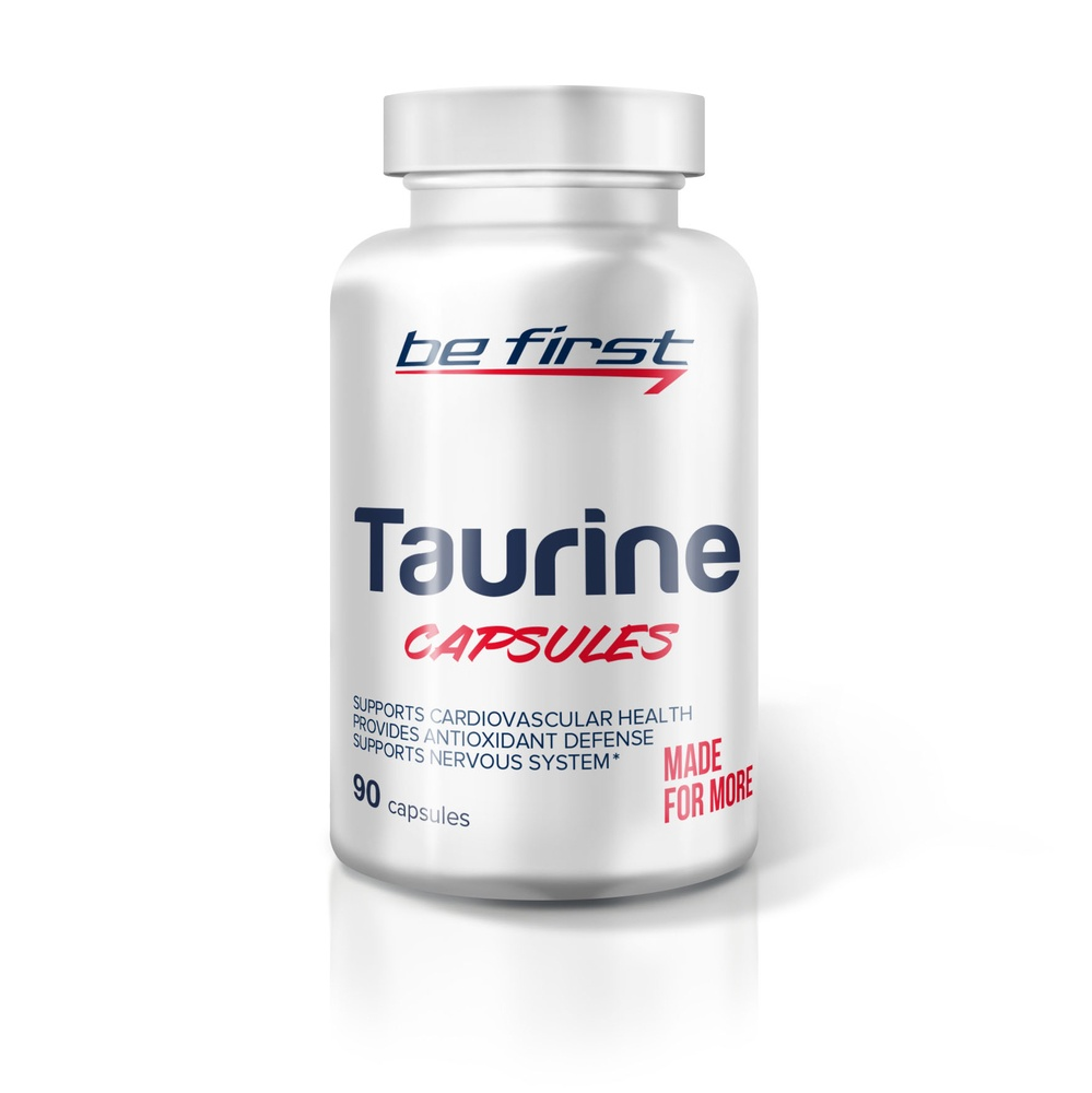 Таурин Be First Taurine Capsules 90 капсул