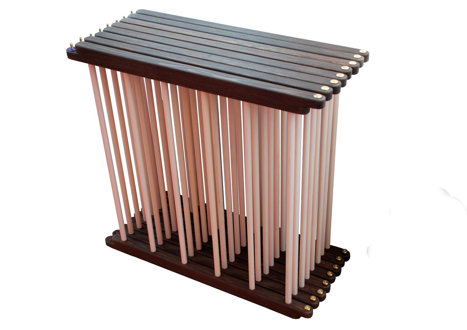 Деревянный манеж трансформер 8 секций без дверки и без дна. Расцветка