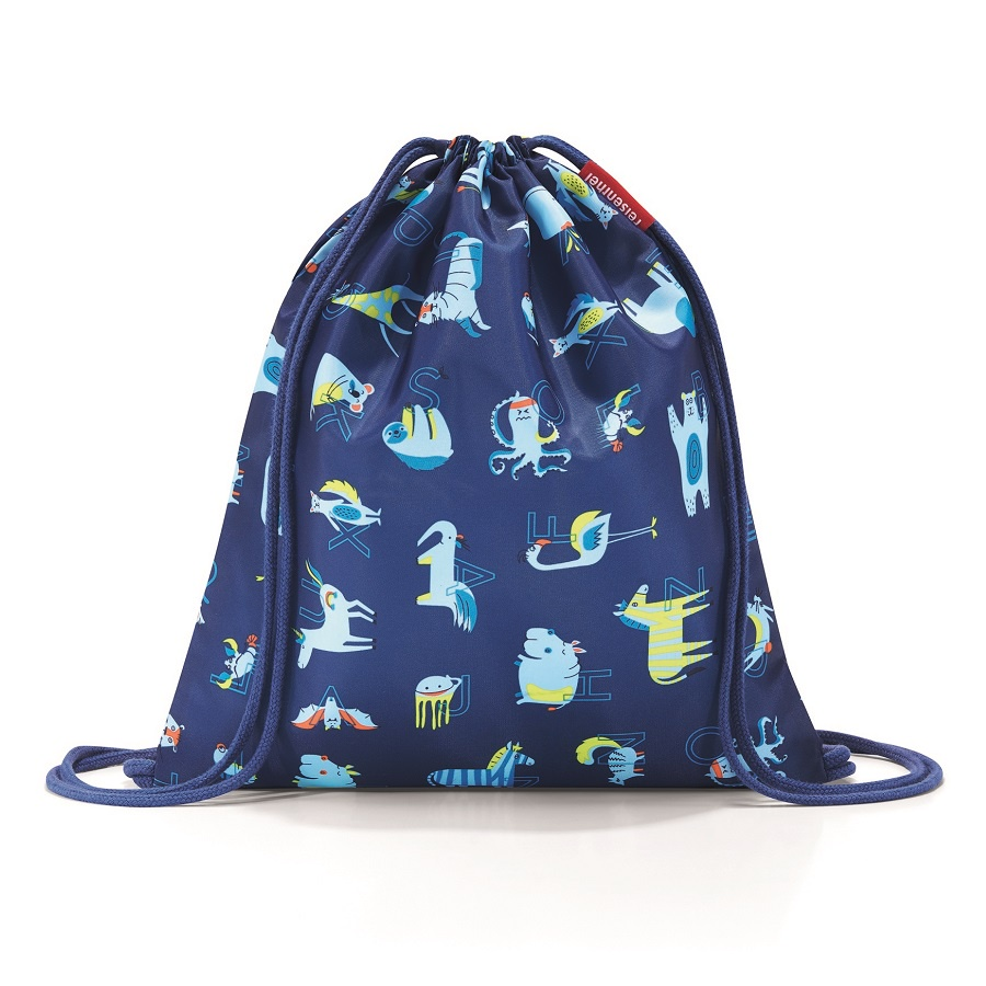 Мешок детский Reisenthel Mysac abc friends blue