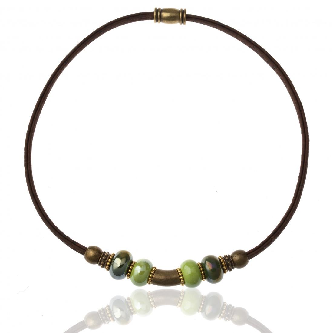 цена на Колье/ожерелье бижутерное Cork Factory
