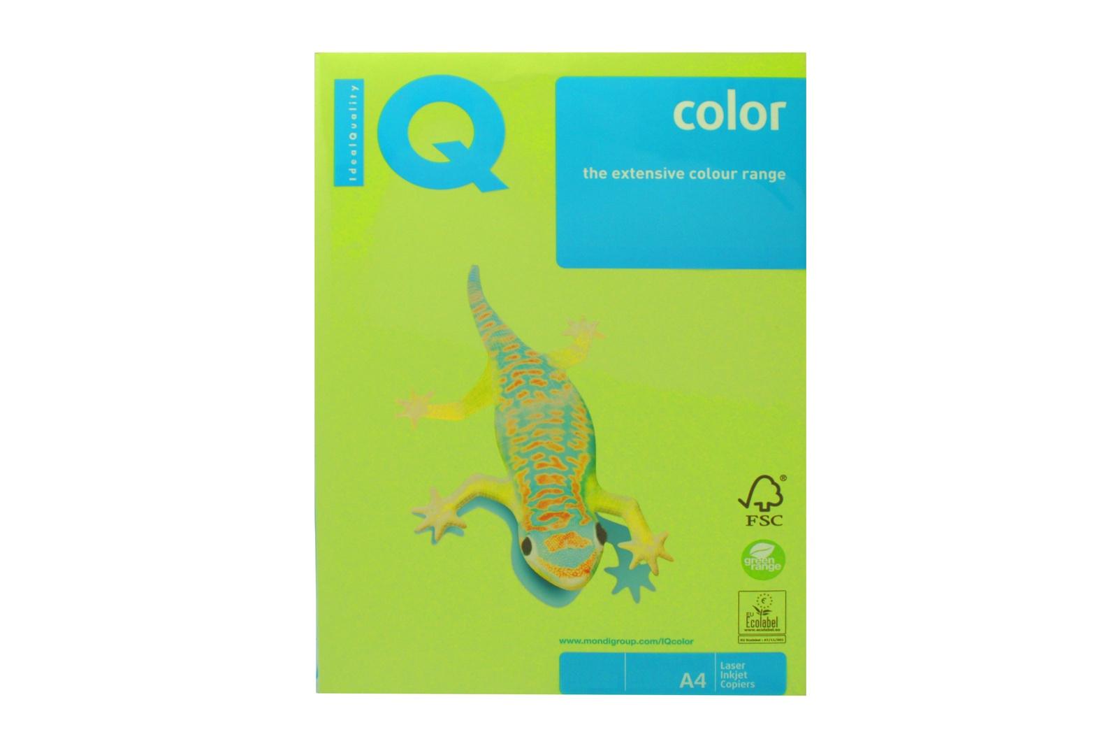 бумага для офисной техники цветная, А4/160 гр, зеленая