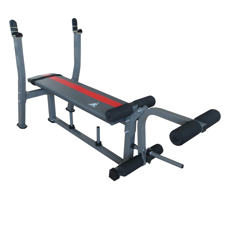 Силовая скамья со стойками DFC D307D многофункциональная скамья со стойками muscle weight bench rho