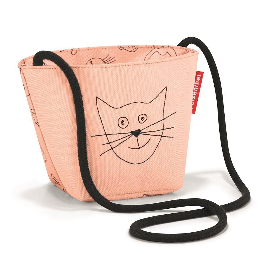 Сумка детская Reisenthel Minibag Cats and dogs rose малыш kid дети schoolbag для мальчика девочка 3d мультфильм животных рюкзак мешок школы детский сад дети детская сумка