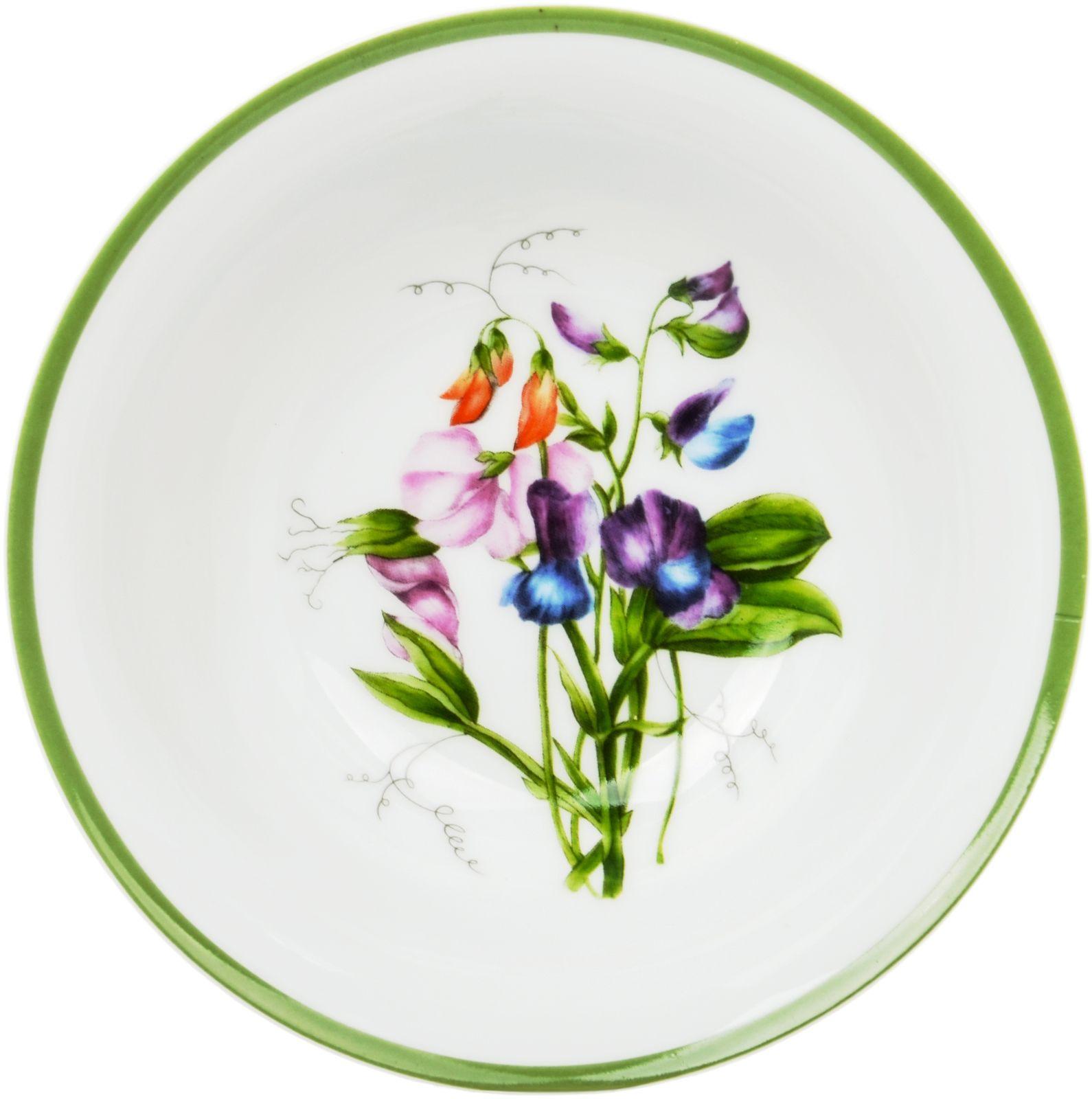 Салатник Dasen Душистый горошек, белый, 18 см посуда