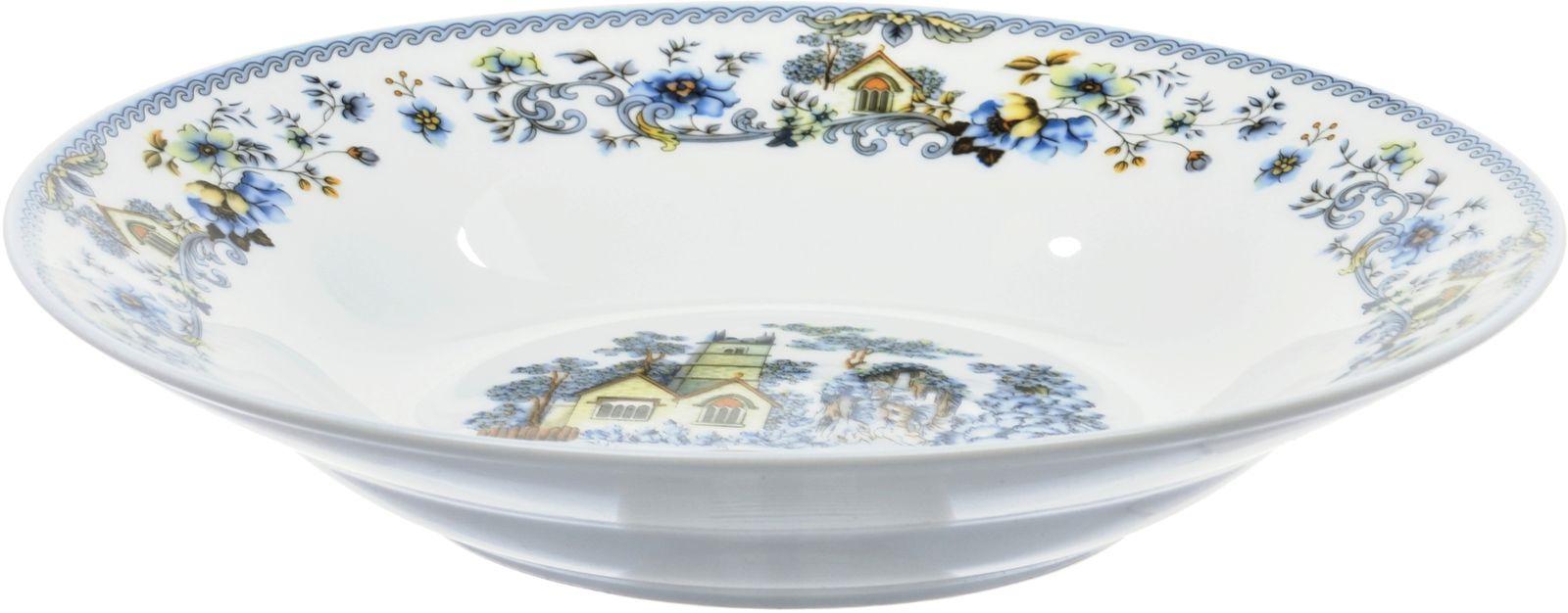 Тарелка глубокая Dasen, белый, 20 см посуда