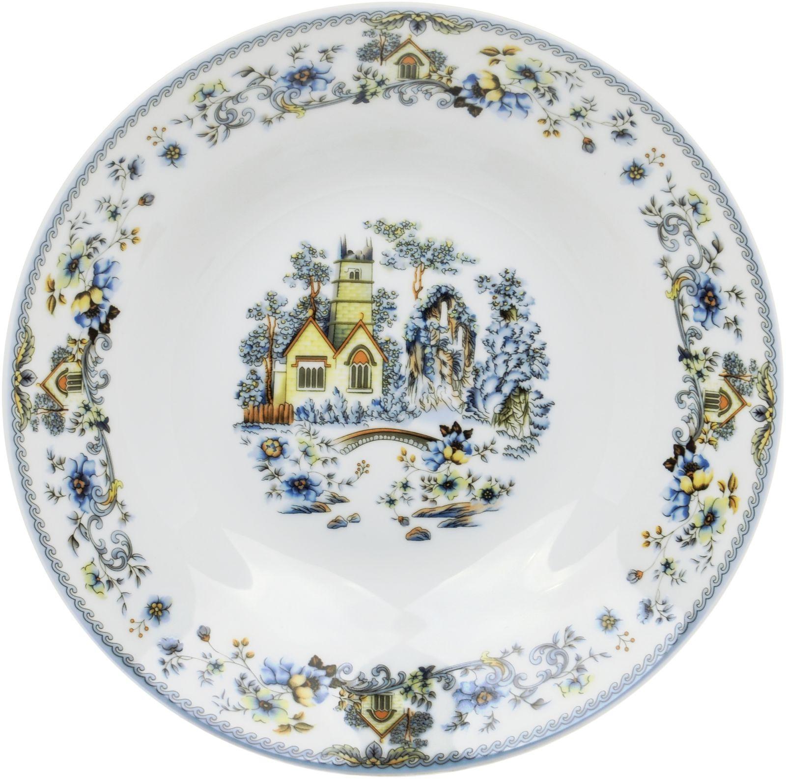 Тарелка десертная Dasen, белый, 19 см посуда