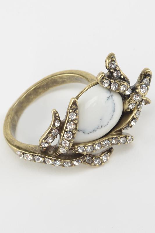 Кольцо бижутерное Inesse M