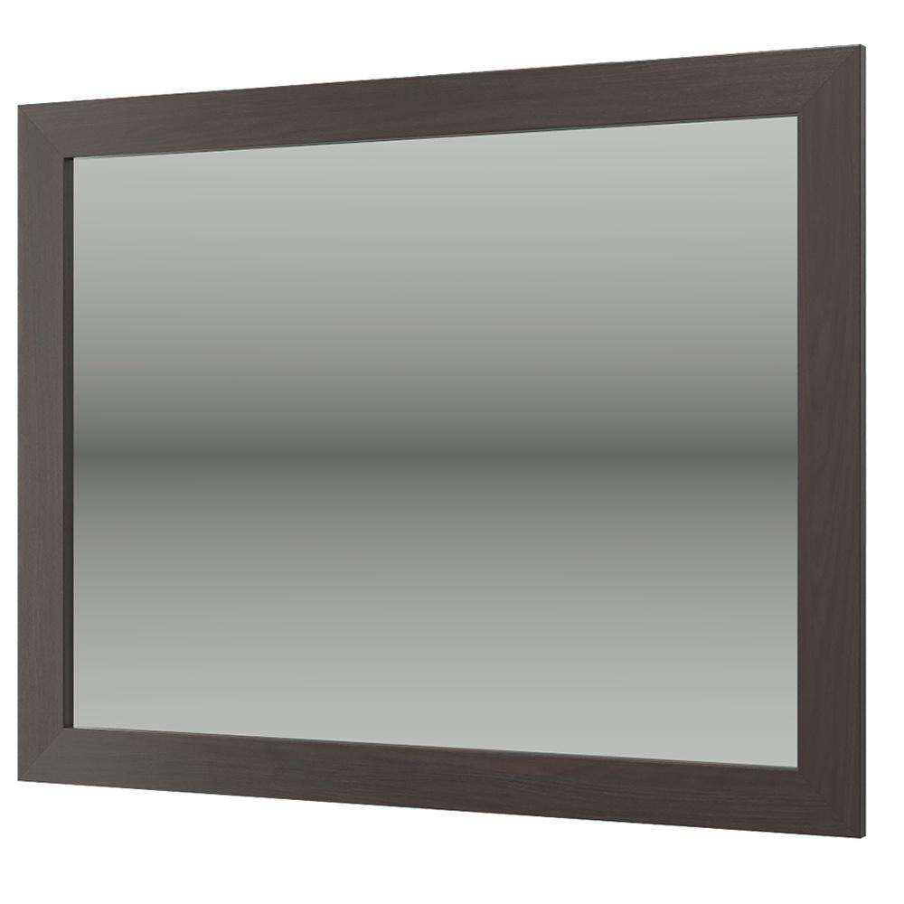 Изабель ИЗ-5 Зеркало, цвет орёх тёмный, ШхГхВ 77х2х60 см. гарнитур для кабинета компасс мебель изабель