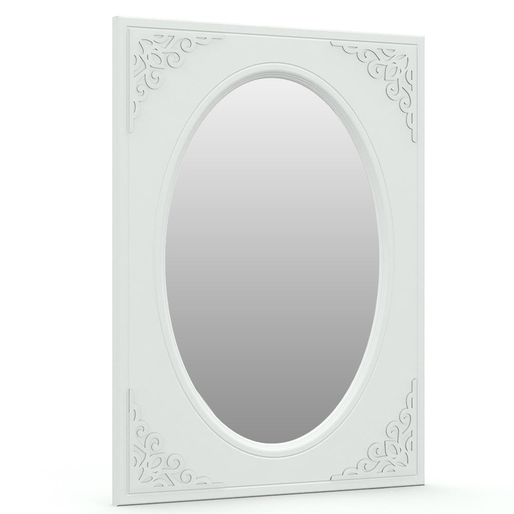 Ассоль АС-07 Зеркало овал, цвет белый, ШхГхВ 80х3х110 см., можно вешать или горизонтально или вертикально принтер canon i sensys lbp312x