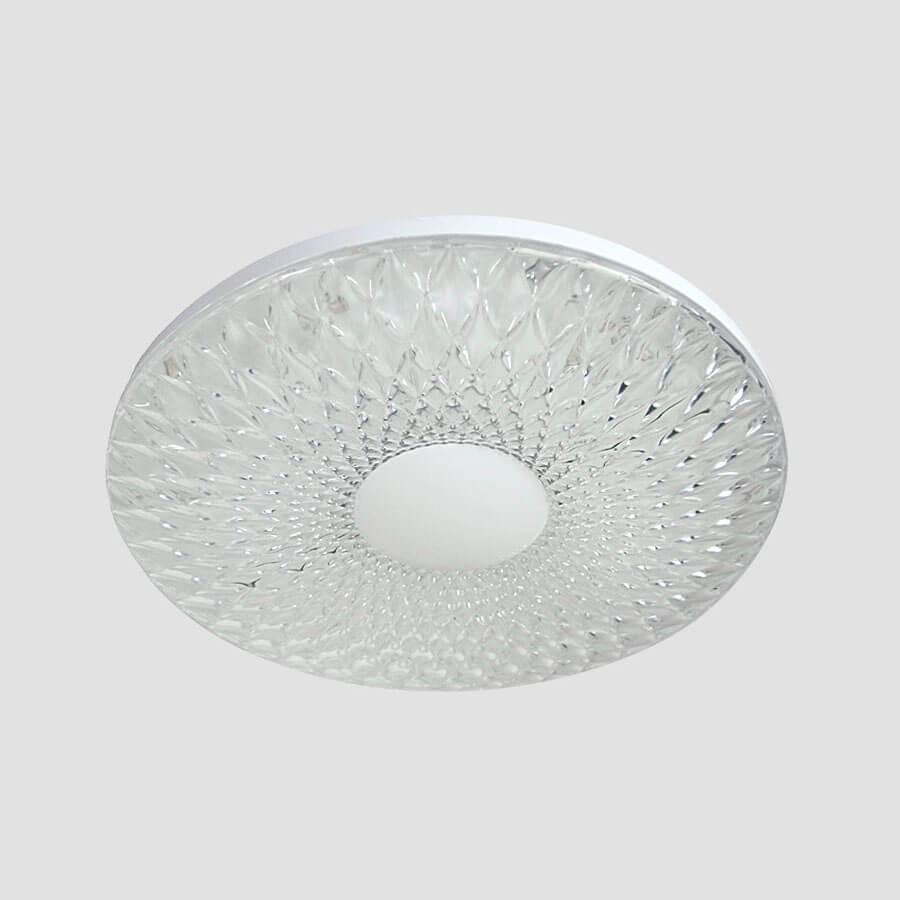 Накладной светильник Ambrella light FS1230 CL 48W D480, LED, 48 Вт ambrella встраиваемый светильник ambrella led s701 cl ch ww