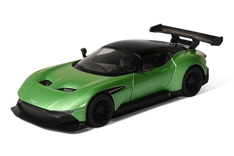 Машинка металлическая с открывающимися дверями, модель Aston Martin Vulcan