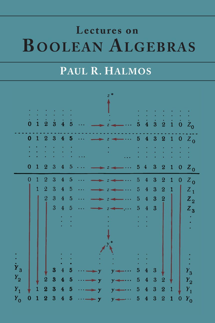 Paul R. Halmos Lectures on Boolean Algebras paul r halmos lectures on boolean algebras