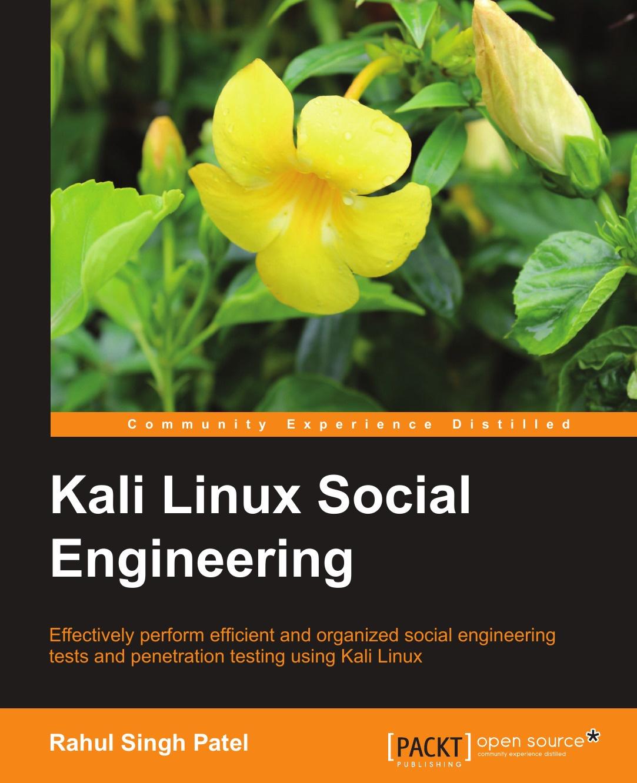Rahul Singh Kali Linux Social Engineering футболка print bar kali
