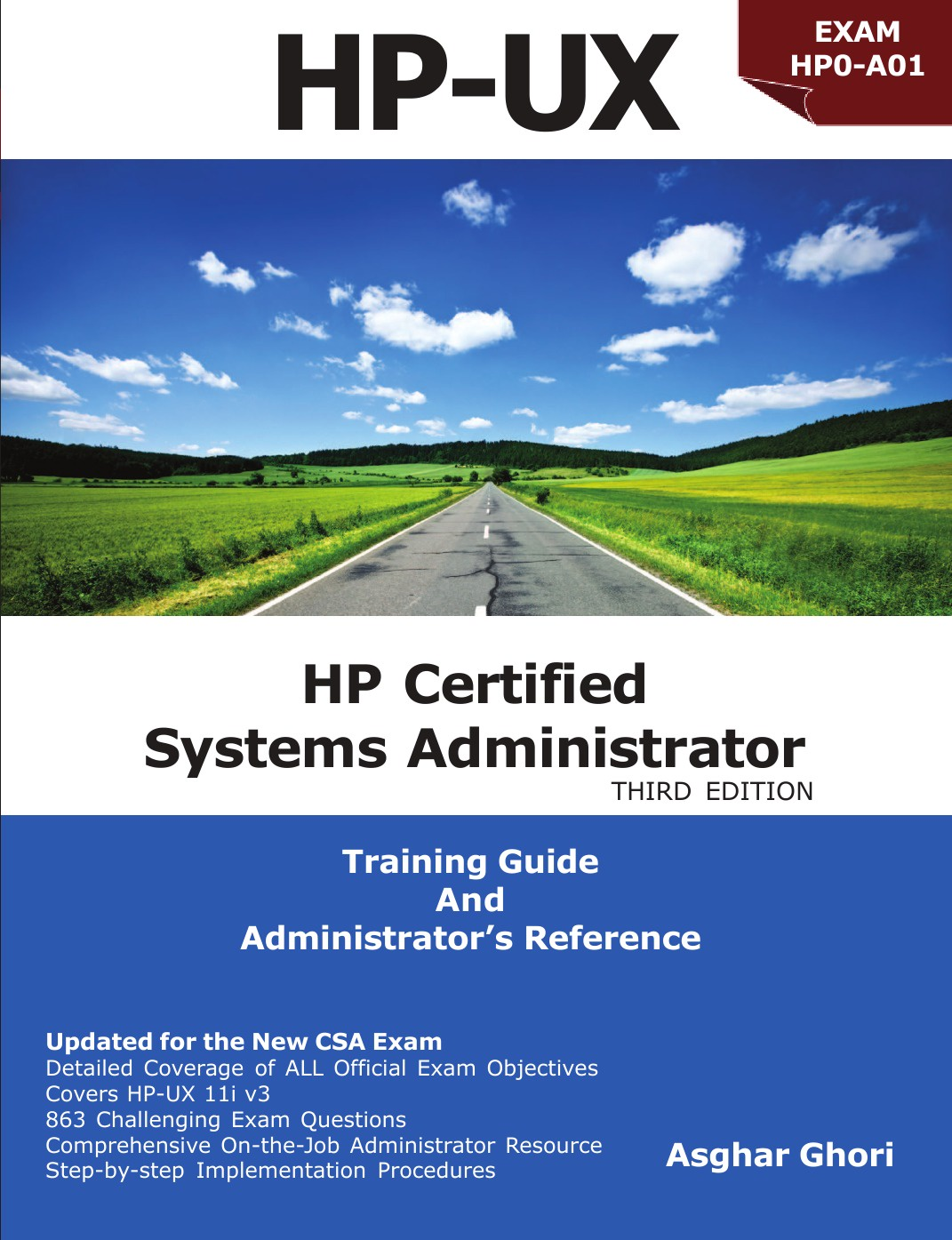 Asghar Ghori HP Certified Systems Administrator - 11i V3 donald chesnut ux for dummies