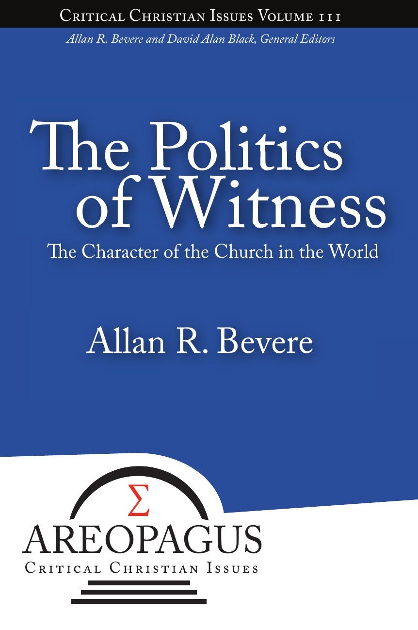 Allan R Bevere The Politics of Witness цены