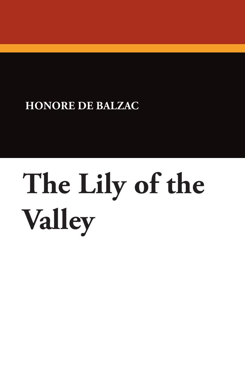 Honore De Balzac The Lily of the Valley стоимость