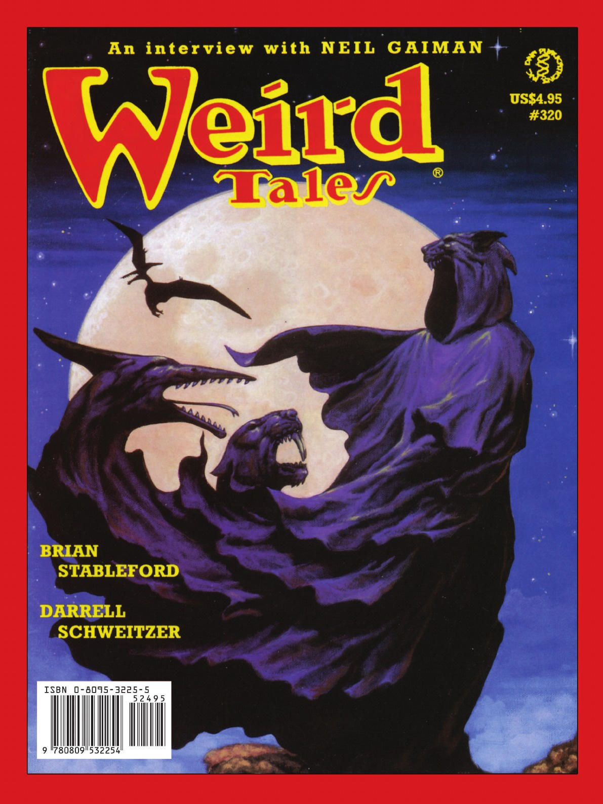 Weird Tales 317-320 (Fall 1999-Summer 2000) camille mauclair brian stableford the frail soul and other stories
