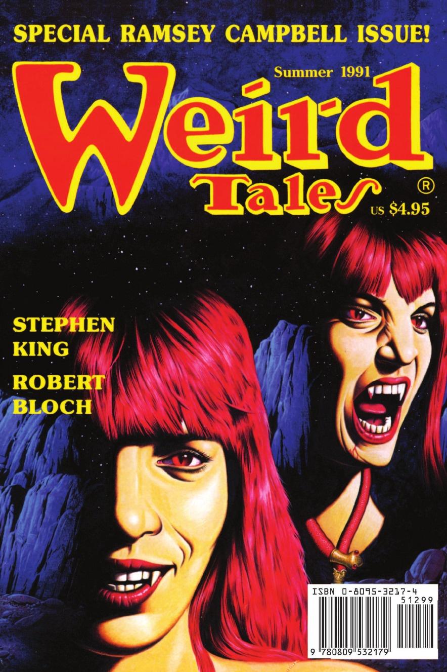 Darrell Schweitzer Weird Tales 301 (Summer 1991) dimebag darrell dimebag darrell the hitz