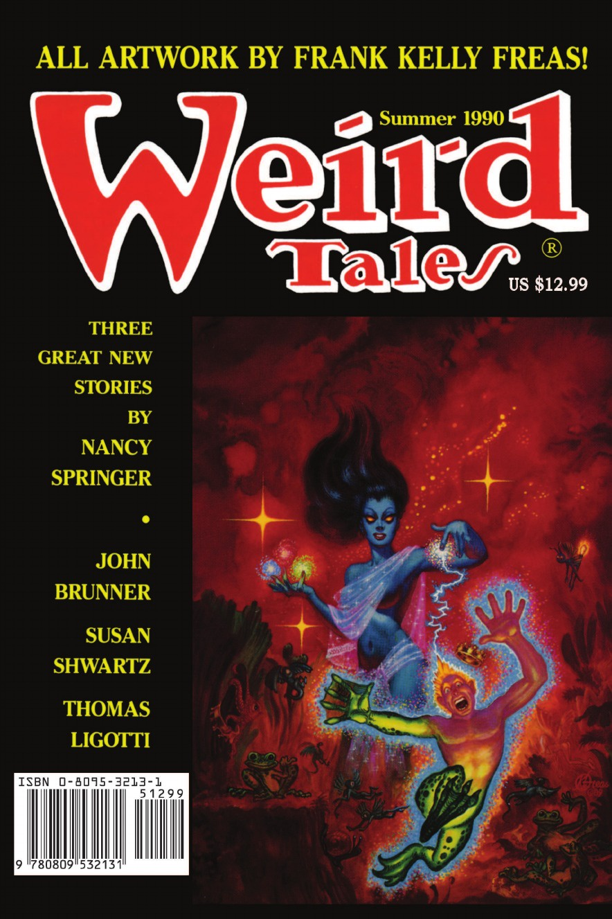 Weird Tales 297 (Summer 1990) golsworthy john villa rubein and other tales