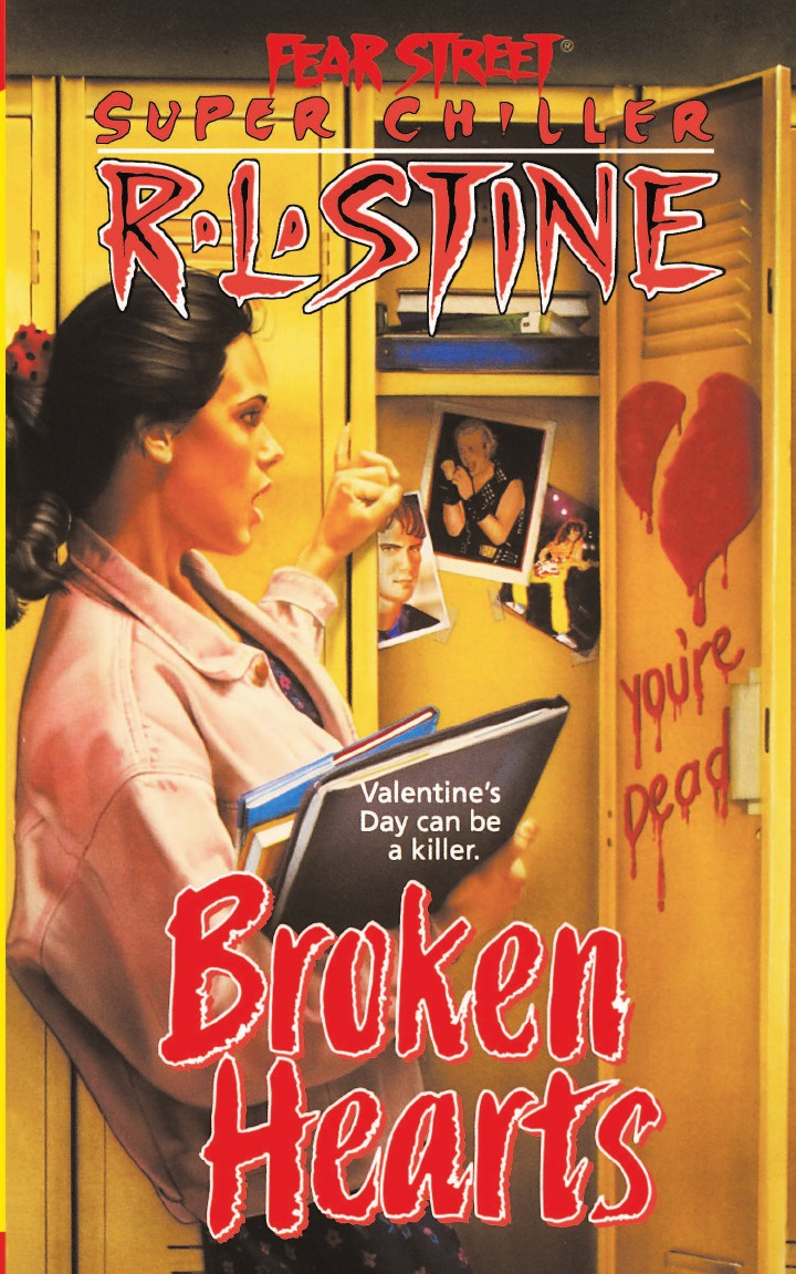 R. L. Stine Broken Hearts jennifer joyce the little teashop of broken hearts