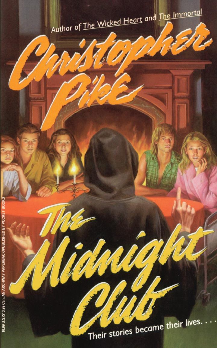 Christopher Pike The Midnight Club mcintosh w burning midnight