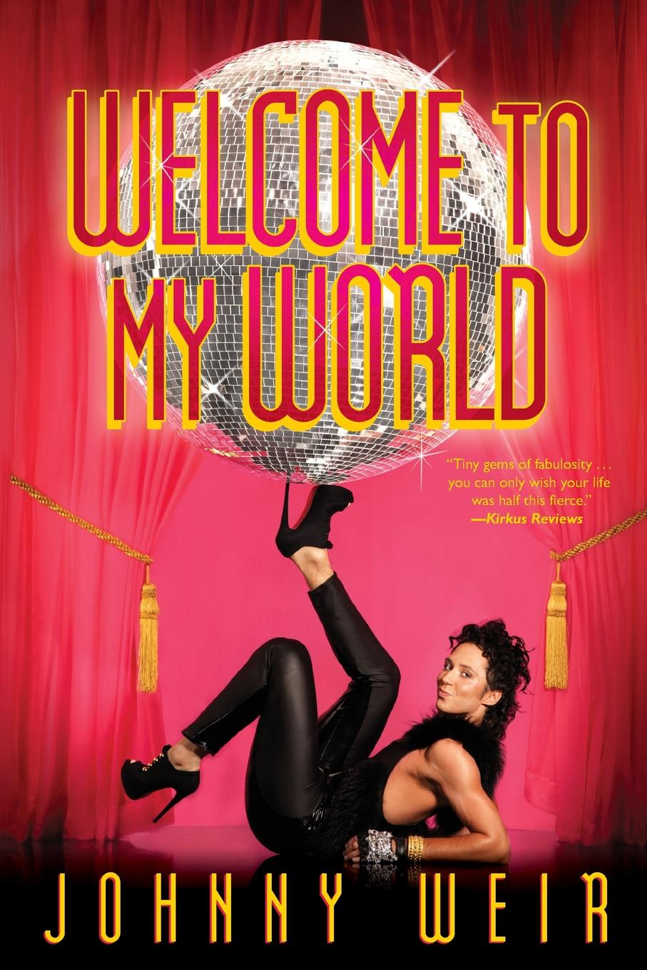 Johnny Weir Welcome to My World flagg f welcome to the world baby girl