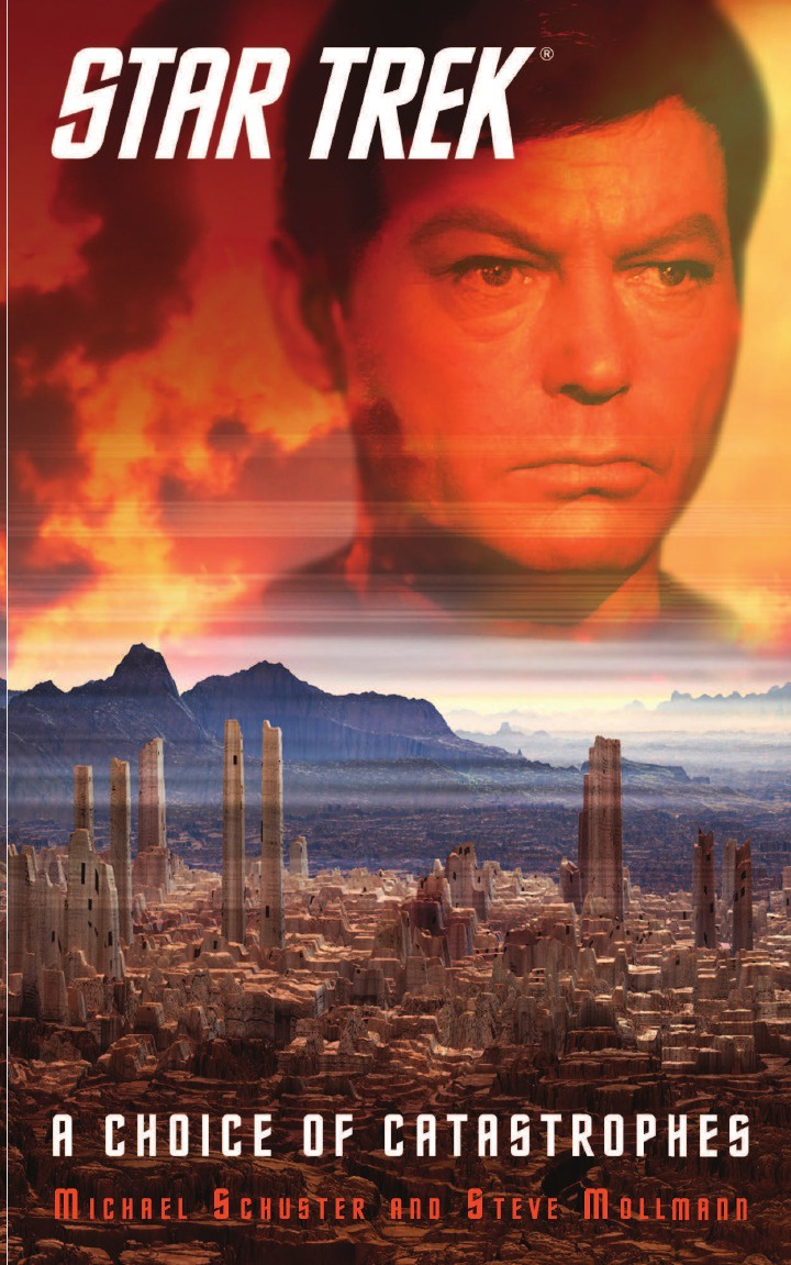 Steve Mollmann, Michael Schuster Star Trek. A Choice of Catastrophes недорго, оригинальная цена
