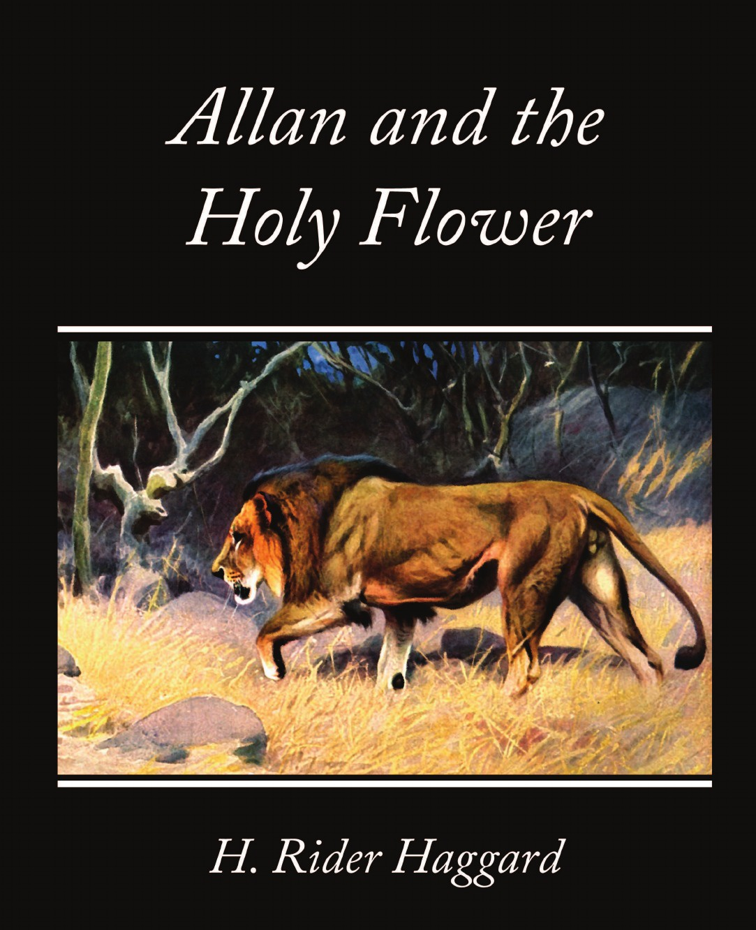 H. Rider Haggard Allan and the Holy Flower haggard h she and allan